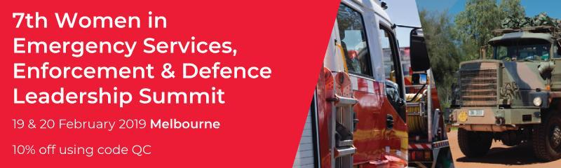 7th Women in Emergency Services, Enforcement & Defence Leadership Summit