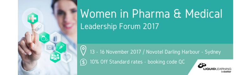 Women in Pharma and Medical Leadership Summit 2017