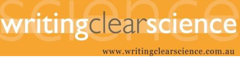 2017 Writing Clear Science Workshops