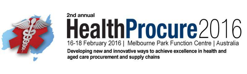 HealthProcure 2016 Conference